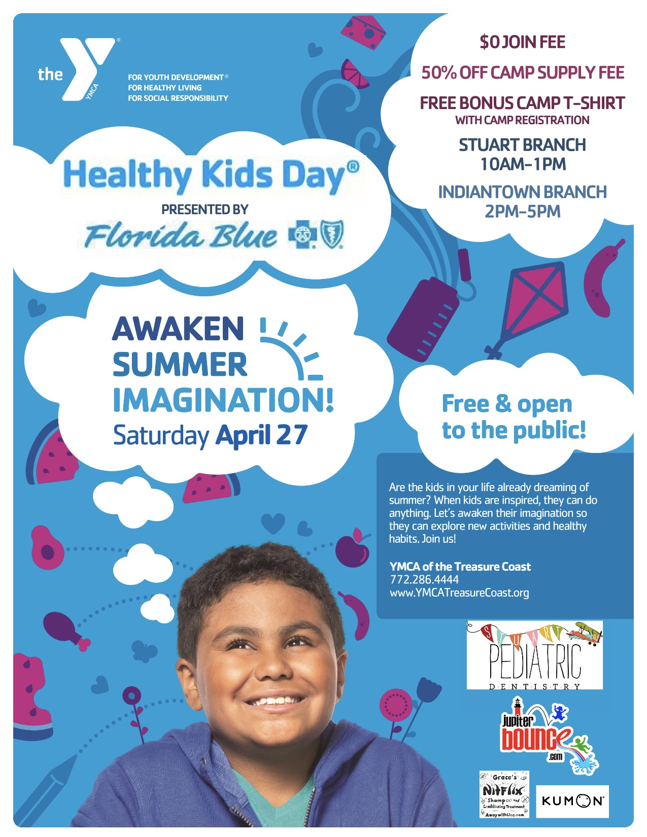 Healthy Kids Day April 27 2019